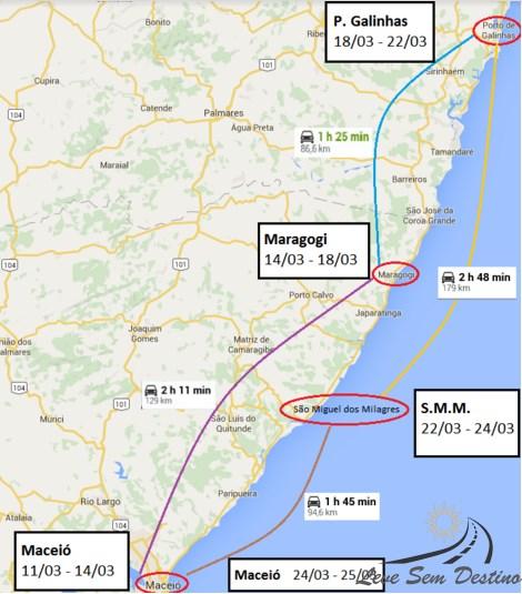 mapa-planejamento-alagoas-pernambuco-road trip