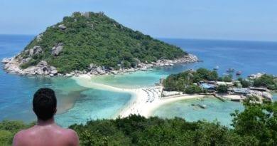 praias de koh tao - tailandia - bangkok - Koh Nang Yuan