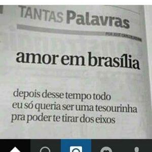 o que fazer em brasilia - tantas palavras - amor em brasilia - correio braziliense