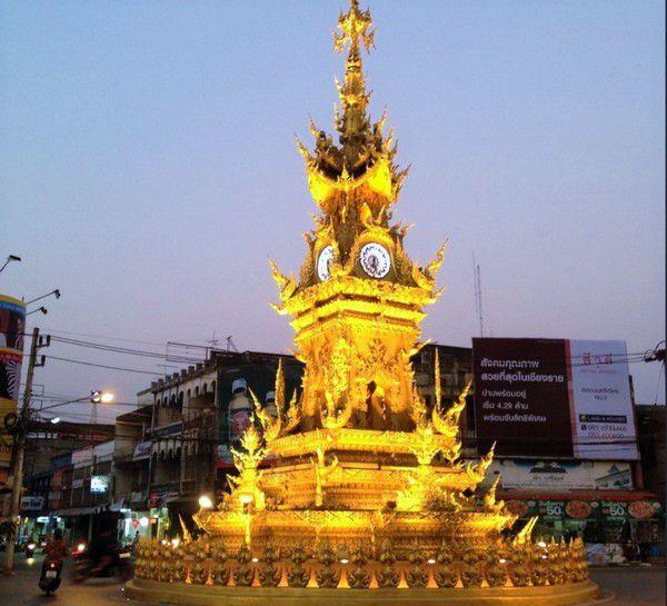 o que fazer em chiang rai - tailandia - clock tower