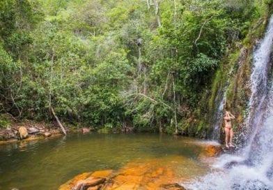 Cachoeira dos Cristais – Um Clube Natural em Veadeiros